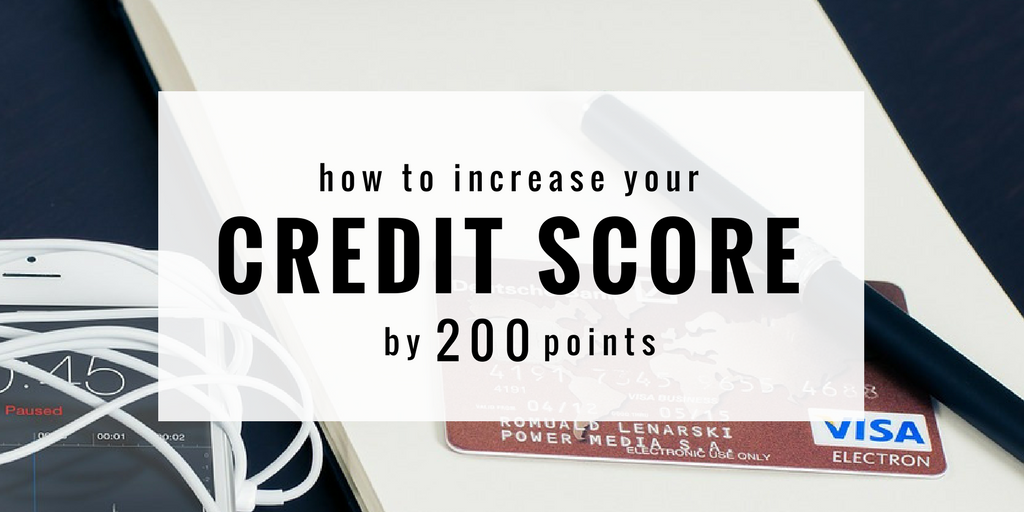 Here's How to Raise Your Credit Score by 200 Points